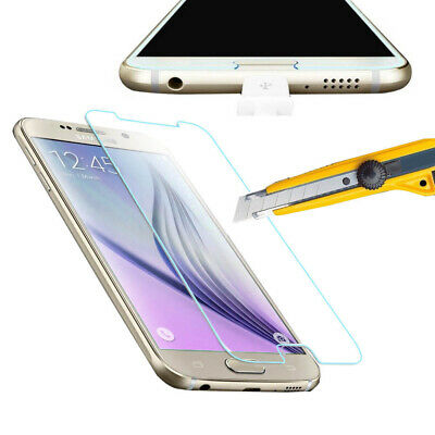 Premium Tempered Glass Film Screen Protector Cover Guard For Samsung galaxy S6