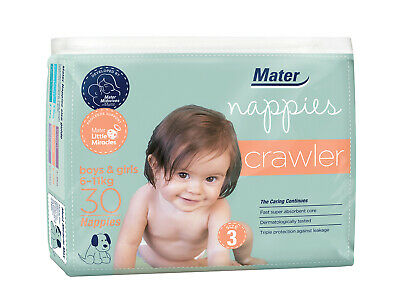 Crawler Nappies 30 Pack