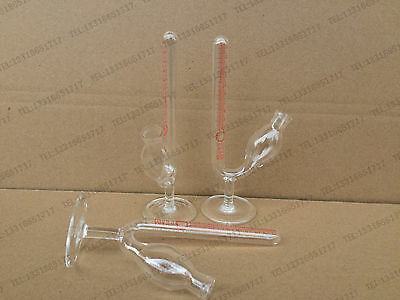 1 pcs 10ml Glass Graduated Fermentation Tube , Lab Glassware #J789 lx