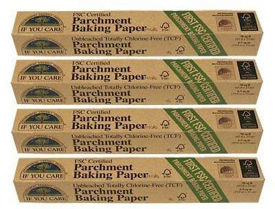 If You Care Parchment Baking Paper - 6.5 sq mt (Pack of 4)
