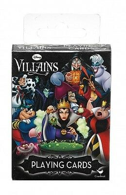 Disney Villains Single Deck Playing Cards New