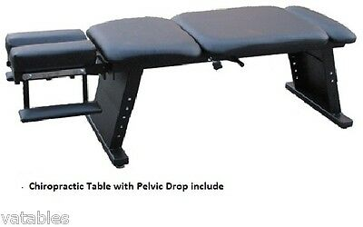 Chiropractic Table With Pelvic Drop, Brand New