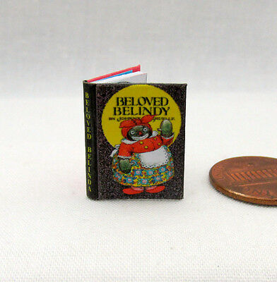 BELOVED BELINDY Illustrated Miniature Book Dollhouse 1:12 Scale Book Raggedy