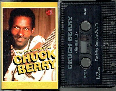 MC - Chuck Berry - Greatest Hits - Rock And Roll Music, Maybellene, u.a.