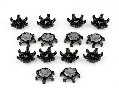 7915e1d7bfe Golf Shoe Spikes 14pcs Replacement Champ Fast Twist Cleat System Screw Studs