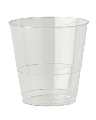 520 x Clear Plastic Cups 8oz Mixer Glasses Disposable