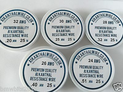 A1 kanthal Wire 18 TO 34 (AWG). Resistance Coil Wire RBA RBD Atomiser 2M TO 50M