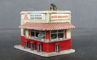 N Scale Bud's Red Hots Kit for Model Railroad Hobby by Showcase Miniatures (124)