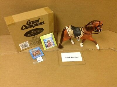 Grand Champions Westphalian Stallion Horse 50003 New With Box