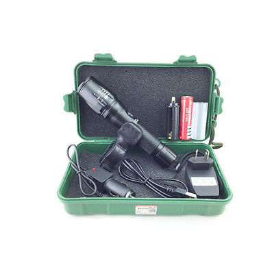 2500Lm Zoomable CREE XM-L T6 USB LED 18650 Rechargeable Battery Flashlight Torch
