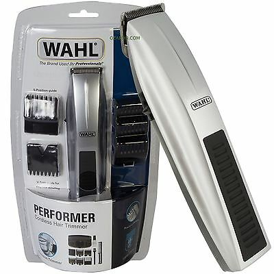 Wahl Mens Beard Trimmer Performer Battery Powered - 5537-217