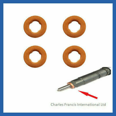 VAUXHALL ZAFIRA 1.9 CDTi BOSCH COMMON RAIL DIESEL INJECTOR COPPER WASHER SEAL