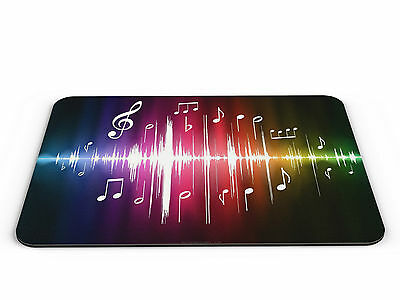 Soundwave Musical Notes PC Mousemat - Brand New
