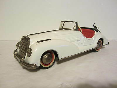 1950's Distler  Car , w / 4 gear + wind up  complet and working condition