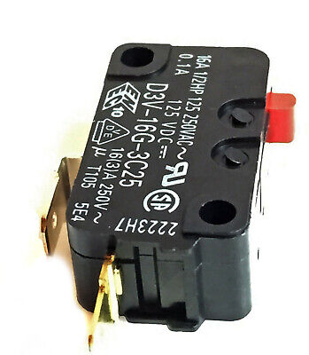 New Frigidaire microwave micro door relay switch 5304440026 and FMV156DCC