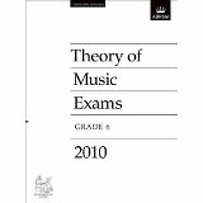 Theory of Music Exams Grade 6 Past Practice Paper 2010 ABRSM B52 S84