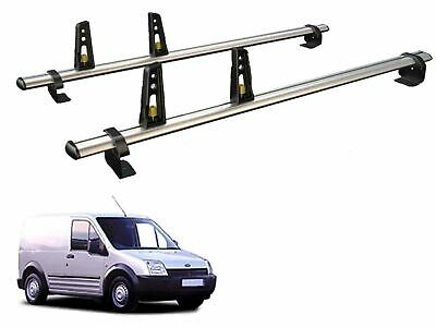 Van Guard ULTI Bar Aluminium 2 Bar Roof Rack 4 Load Stops for VW Caddy (04-10)