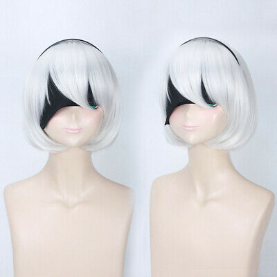 Attack on Titan Levi Rivaille Rival Ackerman Anime Cosplay Costume Wig Free cap