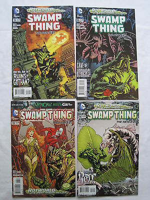 SWAMP THING #s 13,14,15,16 : ROTWORLD complete story. SCOTT SNYDER.THE NEW 52.DC