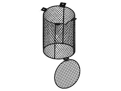Vivarium Round Heat Light Bulb Cage Heatguard Reptile Safety Guard 16cm x 12cm
