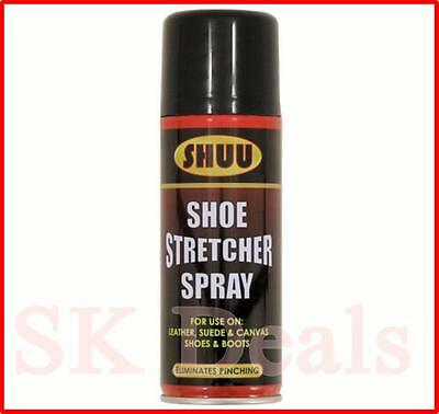 Shoe Stretcher Spray Relieves Tight Fitting Shoes Leather Softener 200 ml