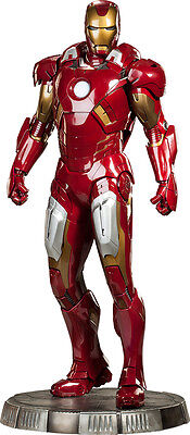 THE AVENGERS - Iron Man Mark 7 Legendary 1:2 Scale Statue (Sideshow) #NEW