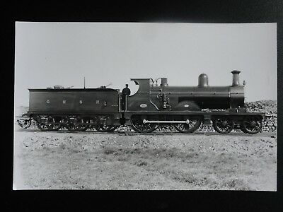 GNSR No.93 Steam Locomotive, Great North of Scotland Railway RP Photocard 140515
