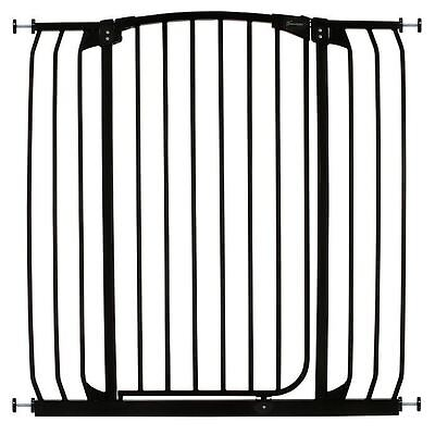 Dreambaby Extra Tall Baby Gate Hallway Child Safety Gate Pressure Fit Black
