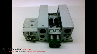 Smc Vqc4-0011-Bbbz with Attached Part Number Ex250-Sdn1-X122 Manifold Vqc4-0011-Bbbz with Attached Part Number Ex250-Sdn1-X122