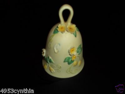 BISQUE PORCELAIN  BELL BUTTERFLY FANTASY COLLECTION VINTAGE by ROYAL ORLEANS