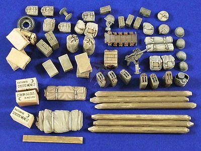 """Verlinden 1/35 M4A3E8 Sherman """"Fury"""" Stowage and Accessories Set (Tamiya) 2834"""