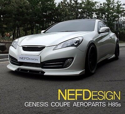 NEFD Front Lip for Hyundai Genesis Coupe 09-12