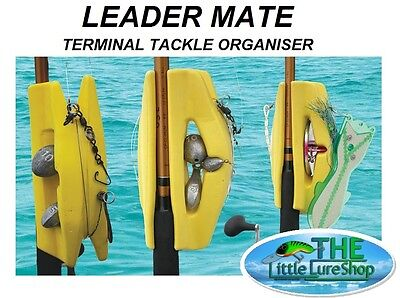"Luna Sea ""leader Mate"" Sinker Dipsy Diver Hook Rig Jig Fishing Tackle Organizer"