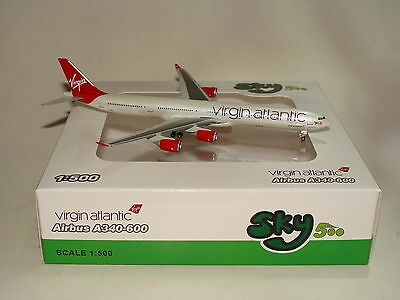 1:500 SKY 500 Virgin Atlantic A340-600 G-VEIL Herpa 500 scale free Shipping