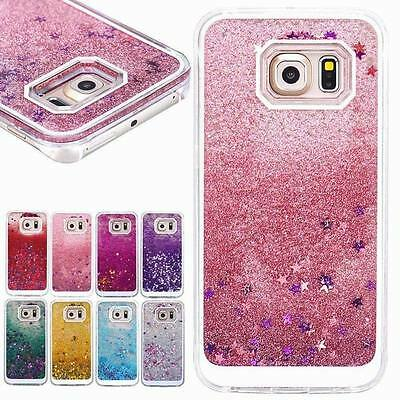 Bling Dynamic Glitter Star Liquid Quicksand Case Cover For Samsung Galaxy S7 S8