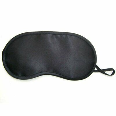 Black Travel Sleep Sleeping Rest Relax Eye Mask Masks Eyemask Blindfold Patch