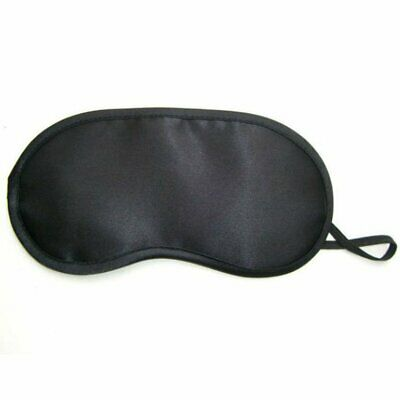 Black Travell Sleep Sleeping Rest Relax Eye Mask Masks Eyemask Blindfold Patch