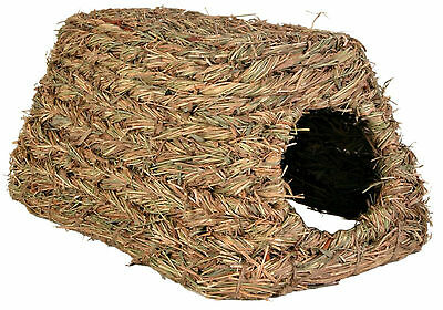 Grassy Hut Grass House Hutch Nesting Den for Guinea Pigs Degus & Other Rodents