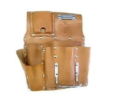 R-485-US Drywall Leather Pouch Hand Crafted Pouch Utility Tool Holder Hammer