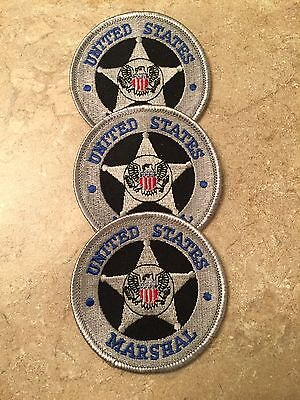 Us Marshal Vintage Patches