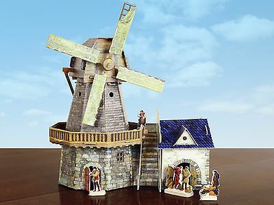 """Old-time windmill"" cardboard construction set (273)"