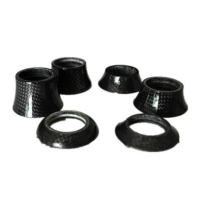Stem Bike Bicycle Cycling Carbon Fiber Washer Headset Spacer 8.5/15/20/40mm