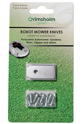 9-576 pcs Automower safety blades from Sweden