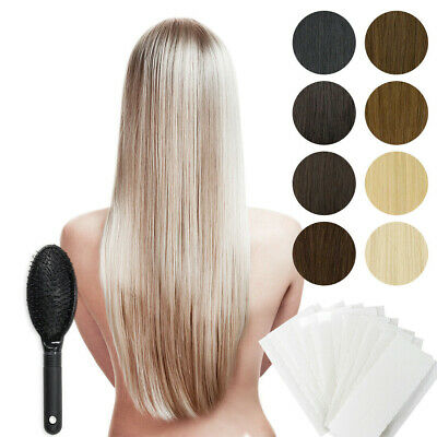 Tape In / On 100% Echthaar Remy Hair Extensions Haarverlängerung 2,5g / Tresse