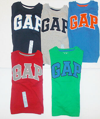 Baby Gap Toddler Boys Long Sleeve T-Shirts Various Colors Sizes 3-6M 4T 5T NWT