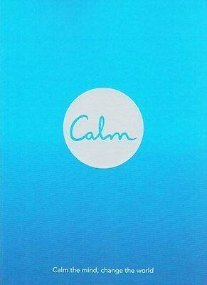 Calm by Michael Acton Smith NEW
