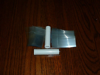 SHRINK WRAP BANDS SLEEVES for lip balm tubes lot of 50 make your own chapstick