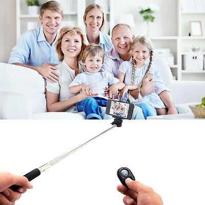 Camera Bluetooth Shutter+Self Selfie Monopod Pole For Iphone 6 5S Galaxy S5 Note