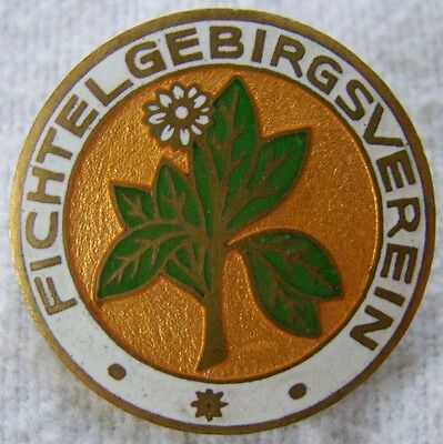 Fichtelgebirgsverein - dekoratives Originalabzeichen - Art. 3040