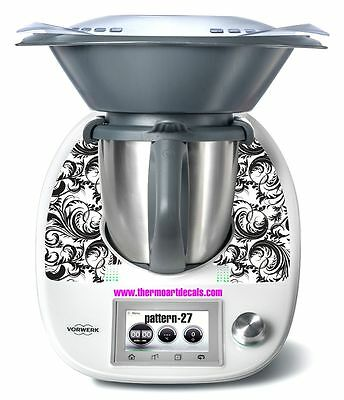 Thermomix TM5 Sticker Decal  (Code: Pattern 27)
